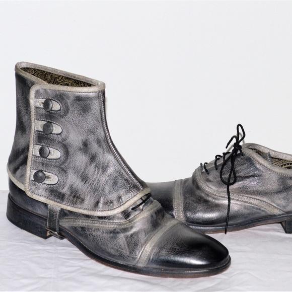 859d8e3bd2f John Varvatos Convertible Spats Bowery Leather But